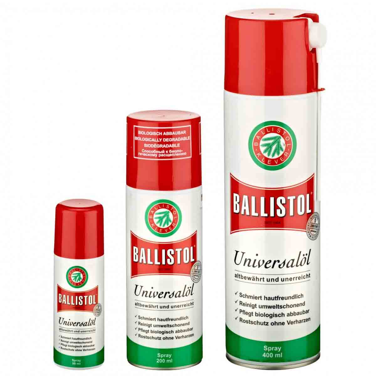 Ballistol- a Universal Oil with more than 1000 uses!