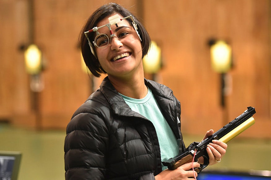 Heena Sidhu Wins Gold with Steyr